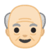👴🏻 Light Skin Tone Old Man Emoji on Google Platform