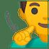 🧏♂️ deaf man Emoji on Google Platform
