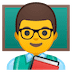 👨‍🏫 man teacher Emoji on Google Platform