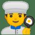 👨🍳 man cook Emoji on Google Platform