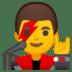 👨🎤 man singer Emoji on Google Platform