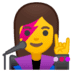 👩🎤 woman singer Emoji on Google Platform