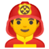 👨‍🚒 man firefighter Emoji on Google Platform