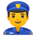 👮‍♂️ man police officer Emoji on Google Platform