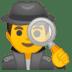 🕵️♂️ man detective Emoji on Google Platform