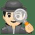 🕵🏻♂️ man detective: light skin tone Emoji on Google Platform