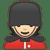 💂🏻 guard: light skin tone Emoji on Google Platform