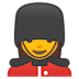 💂‍♀️ woman guard Emoji on Google Platform