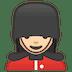 💂🏻♀️ woman guard: light skin tone Emoji on Google Platform