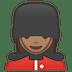💂🏽♀️ woman guard: medium skin tone Emoji on Google Platform