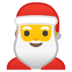 🎅 Santa Claus Emoji on Google Platform