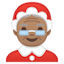 🤶🏽 Mrs. Claus: medium skin tone Emoji on Google Platform