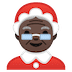 🤶🏿 Mrs. Claus: dark skin tone Emoji on Google Platform