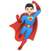 🦸🏻‍♂️ man superhero: light skin tone Emoji on Google Platform
