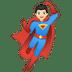 🦸🏻♂️ man superhero: light skin tone Emoji on Google Platform