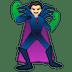 🦹🏻 supervillain: light skin tone Emoji on Google Platform