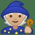 🧙🏼 mage: medium-light skin tone Emoji on Google Platform