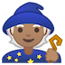 🧙🏽 Medium Skin Tone Mage Emoji on Google Platform
