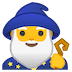 🧙‍♂️ Man Mage Emoji on Google Platform