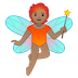 🧚🏽 fairy: medium skin tone Emoji on Google Platform