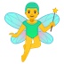 🧚‍♂️ man fairy Emoji on Google Platform