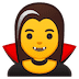 🧛‍♀️ woman vampire Emoji on Google Platform