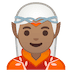 🧝🏽 Medium Skin Tone Elf Emoji on Google Platform