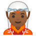 🧝🏾 elf: medium-dark skin tone Emoji on Google Platform