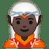 🧝🏿 elf: dark skin tone Emoji on Google Platform