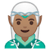 🧝🏽‍♂️ man elf: medium skin tone Emoji on Google Platform