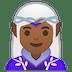 🧝🏾♀️ woman elf: medium-dark skin tone Emoji on Google Platform