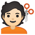 💇🏻 person getting haircut: light skin tone Emoji on Google Platform