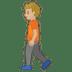 🚶🏼 Medium Light Skin Tone Person Walking Emoji on Google Platform