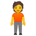 🧍 person standing Emoji on Google Platform