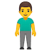 🧍‍♂️ man standing Emoji on Google Platform
