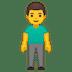 🧍♂️ man standing Emoji on Google Platform