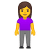 🧍‍♀️ woman standing Emoji on Google Platform