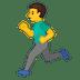 🏃♂️ man running Emoji on Google Platform