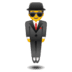 🕴️ man in suit levitating Emoji on Google Platform