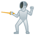 🤺 person fencing Emoji on Google Platform