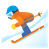 ⛷️ Person Skiing Emoji on Google Platform