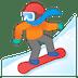 🏂 snowboarder Emoji on Google Platform