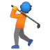 🏌️ person golfing Emoji on Google Platform