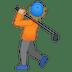 🏌🏼 Medium Light Skin Tone Person Golfing Emoji on Google Platform