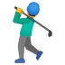 🏌️‍♂️ man golfing Emoji on Google Platform