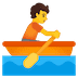 🚣 person rowing boat Emoji on Google Platform