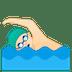 🏊🏻♂️ man swimming: light skin tone Emoji on Google Platform