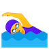 🏊‍♀️ woman swimming Emoji on Google Platform