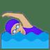 🏊🏼♀️ woman swimming: medium-light skin tone Emoji on Google Platform