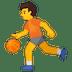 ⛹️ Person Bouncing Ball Emoji on Google Platform